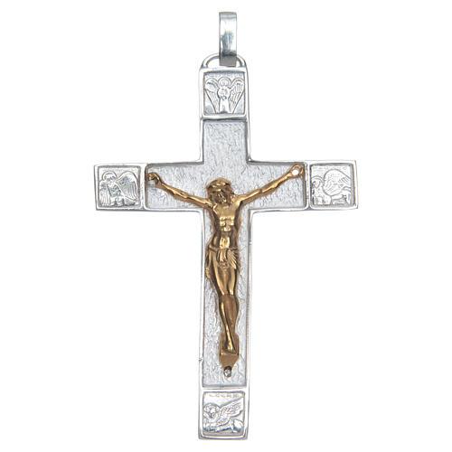 Croce pettorale Argento 925 Evangelisti 1