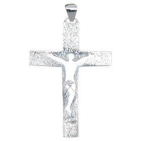 Croce pettorale Argento 925 corpo traforato s2