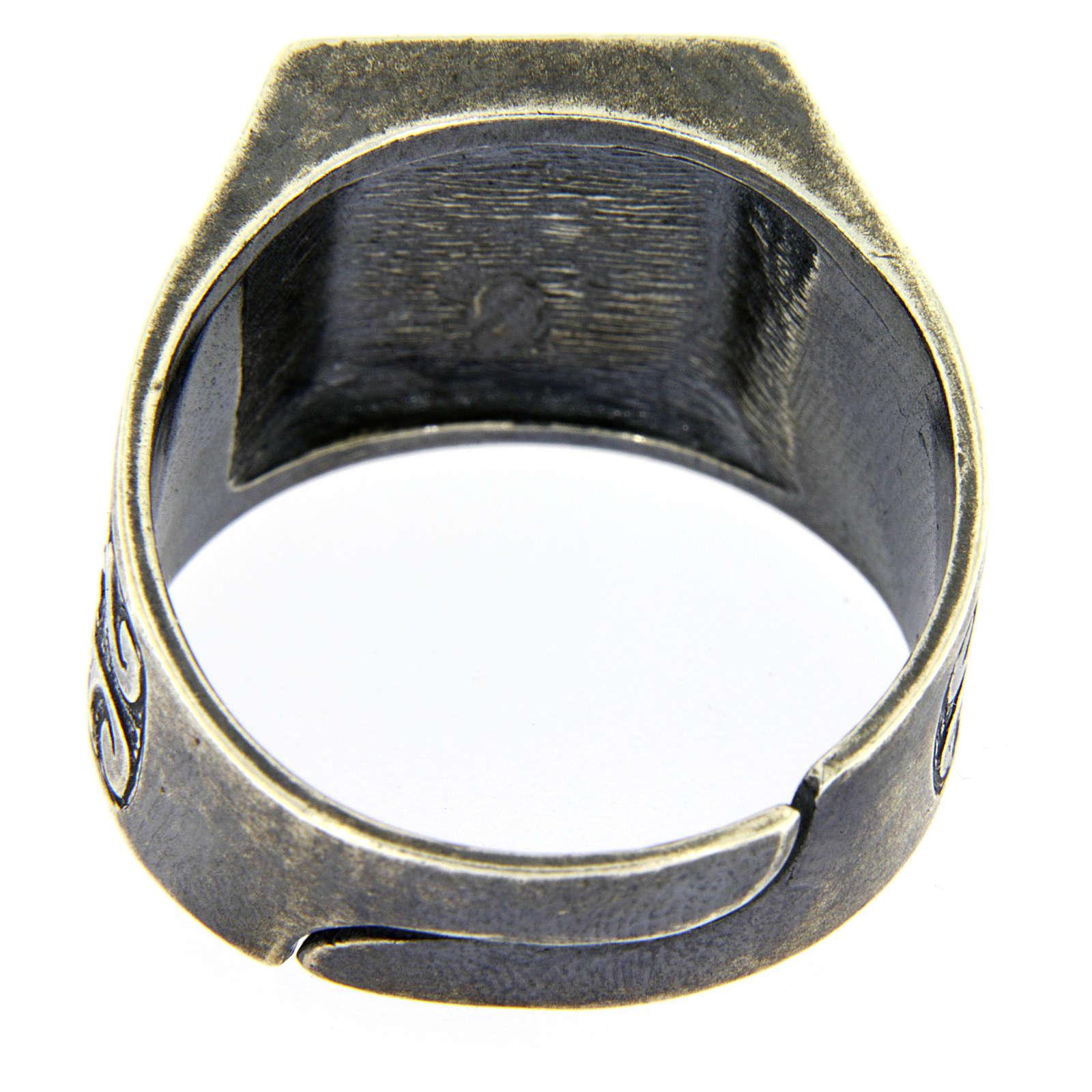 Anello S.S. Trinità argento 925 3