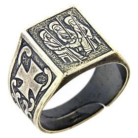Anello S.S. Trinità argento 925 s1