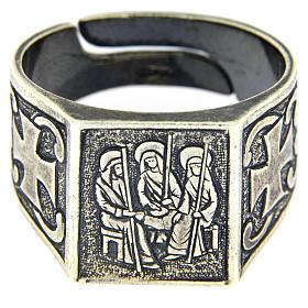 Anello S.S. Trinità argento 925 s2