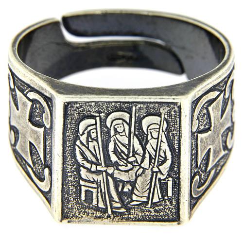 Anello S.S. Trinità argento 925 2
