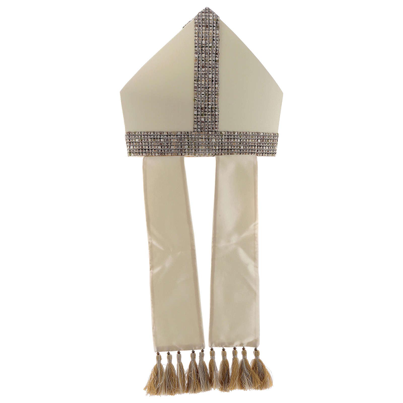 Mitre toile 100% laine avec bande en tissu Chanel 3
