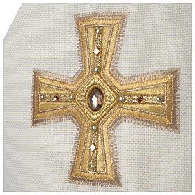 Mitra Limited Edition Croce nastro e pietre s4