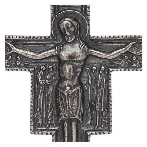 Croce vescovile argento 925 2