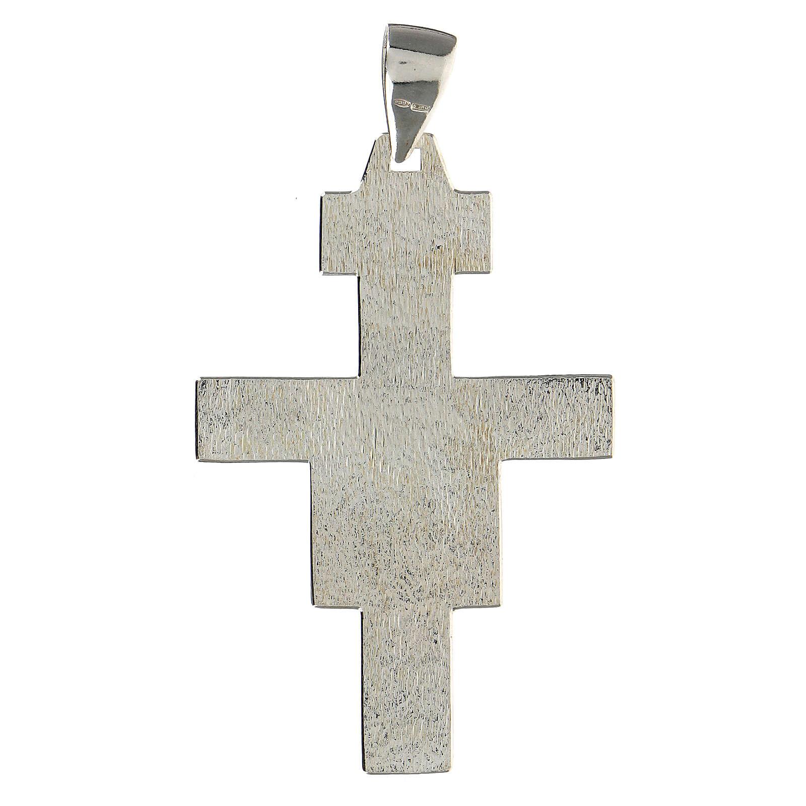 Bishop cross in 925 silver 3