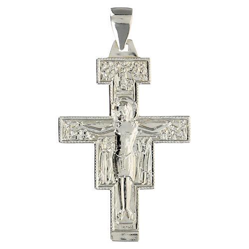 Bishop cross in 925 silver 1