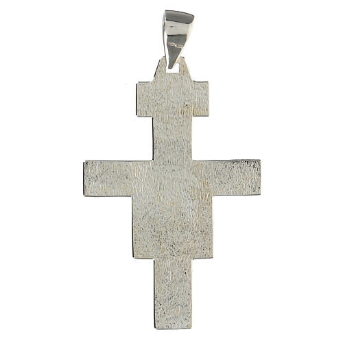 Bishop cross in 925 silver 2