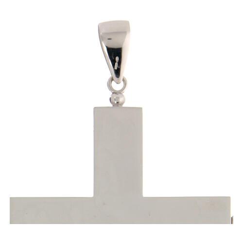 Croix épiscopale reliquaire argent 925 ouvrante 5