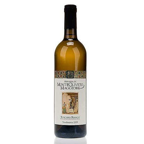 Vino Toscana Bianco Abbazia Monte Oliveto 750 ml 1