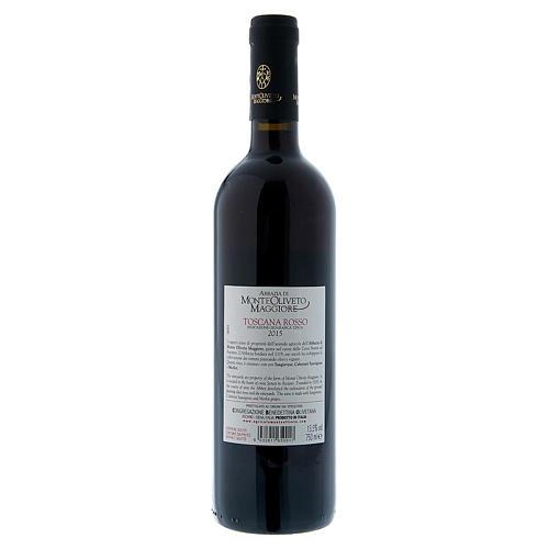 Vino Toscana Rosso 2015 Abbazia Monte Oliveto 750 ml 2