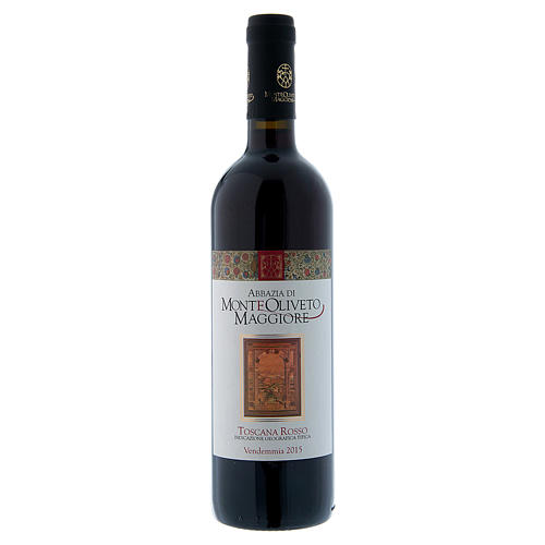 Tuscan Red Wine- Monte Oliveto Abbey 2015 1