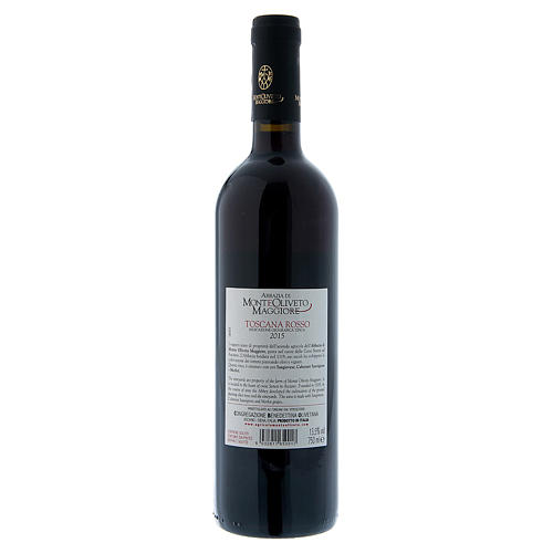 Tuscan Red Wine- Monte Oliveto Abbey 2015 2