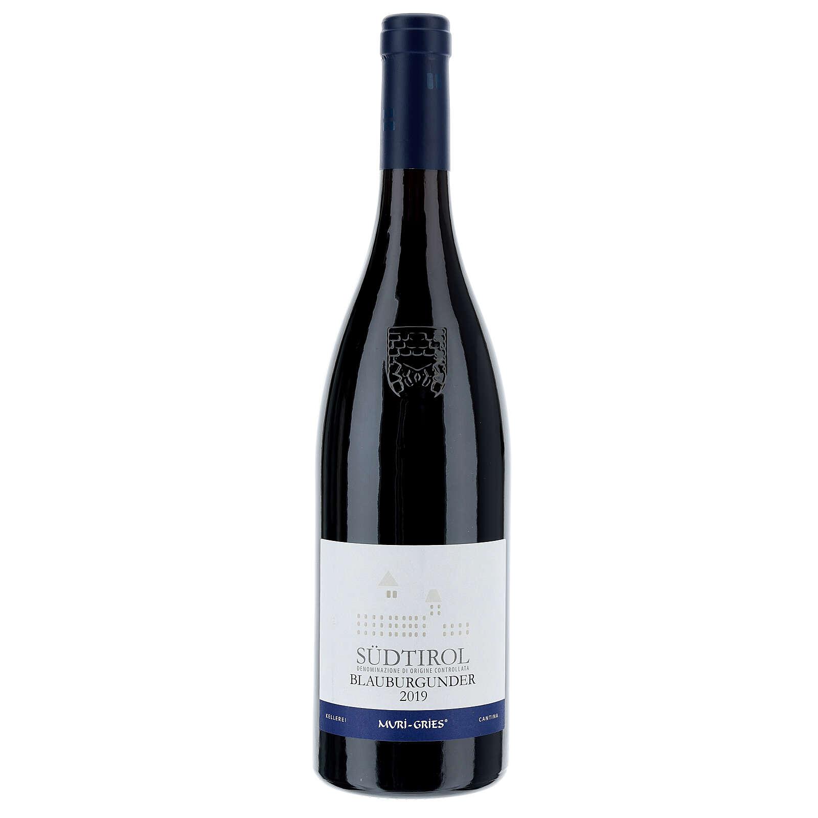 Pinot Nero DOC 2019 wine Muri Gries Abbay 750 ml 3