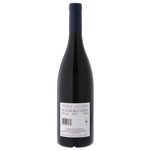 Vino Pinot negro DOC 2017 Abadia Muri Gries 2