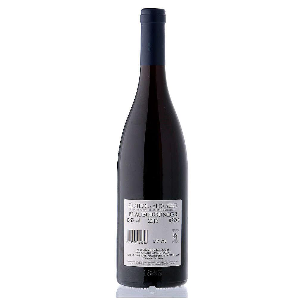 Vino Pinot Nero DOC 2016 Abbazia Muri Gries 750 ml 3