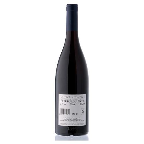 Vino Pinot Nero DOC 2016 Abbazia Muri Gries 750 ml 2