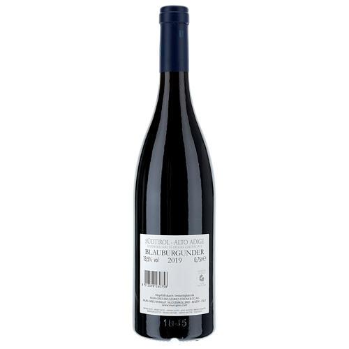 Vino Pinot Nero DOC 2019 Abbazia Muri Gries 750 ml 2