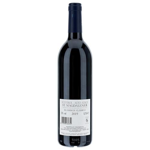 Vino S. Maddalena DOC 2019 Abbazia Muri Gries 750 ml 2
