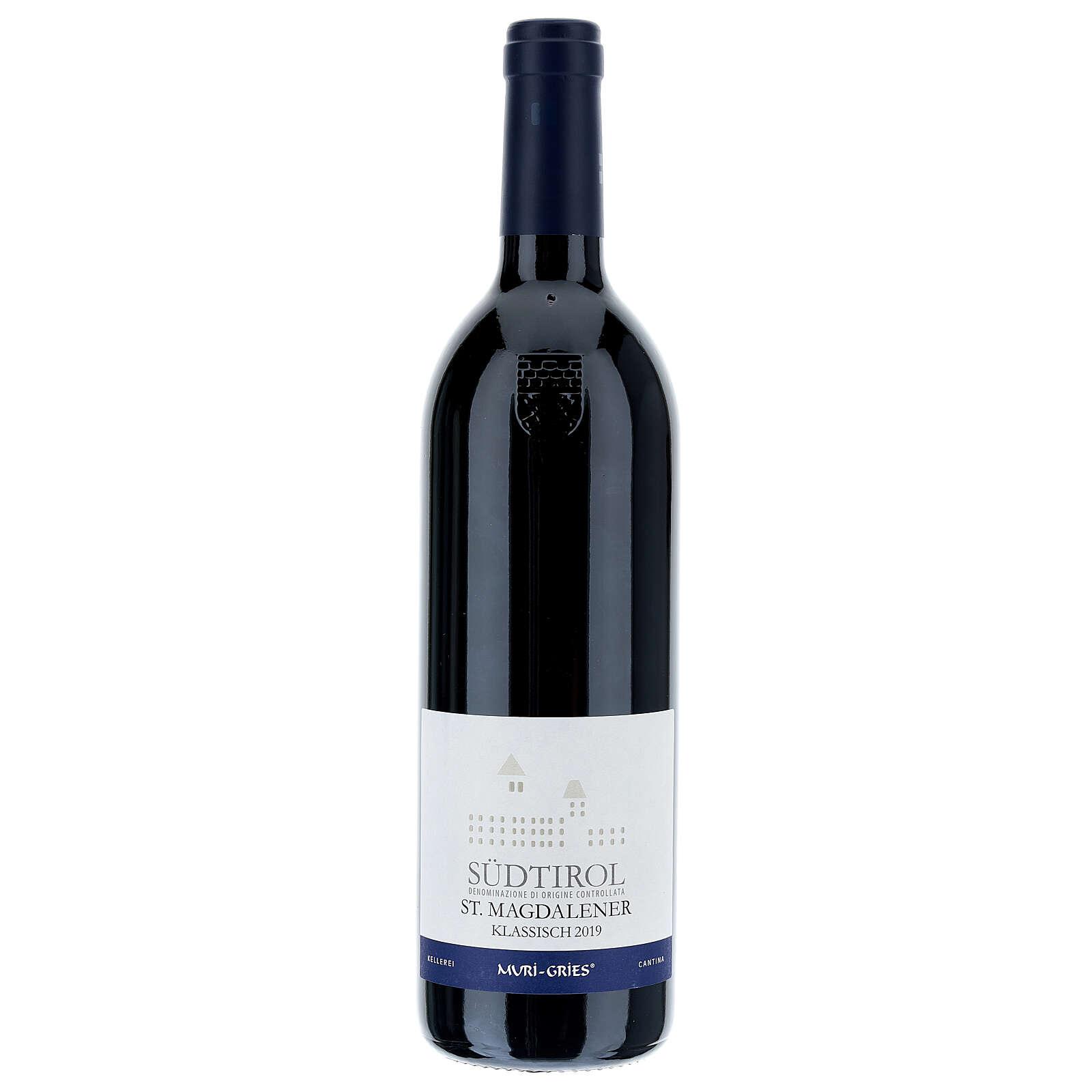 Vinho S. Maddalena DOC 2019 Abadia Muri Gries 750 ml 3