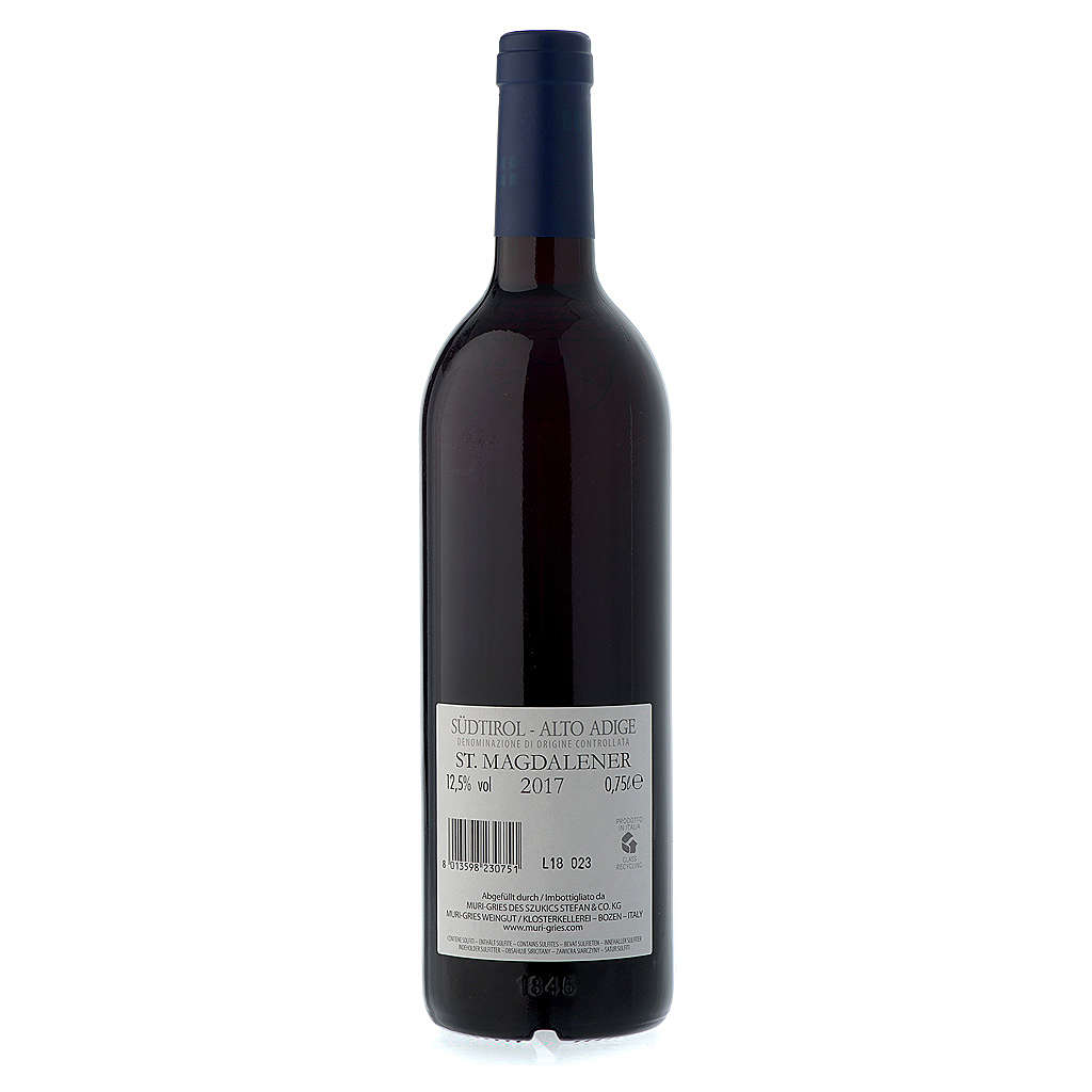 St. Maddalena DOC 2017 wine Muri Gries Abby 3