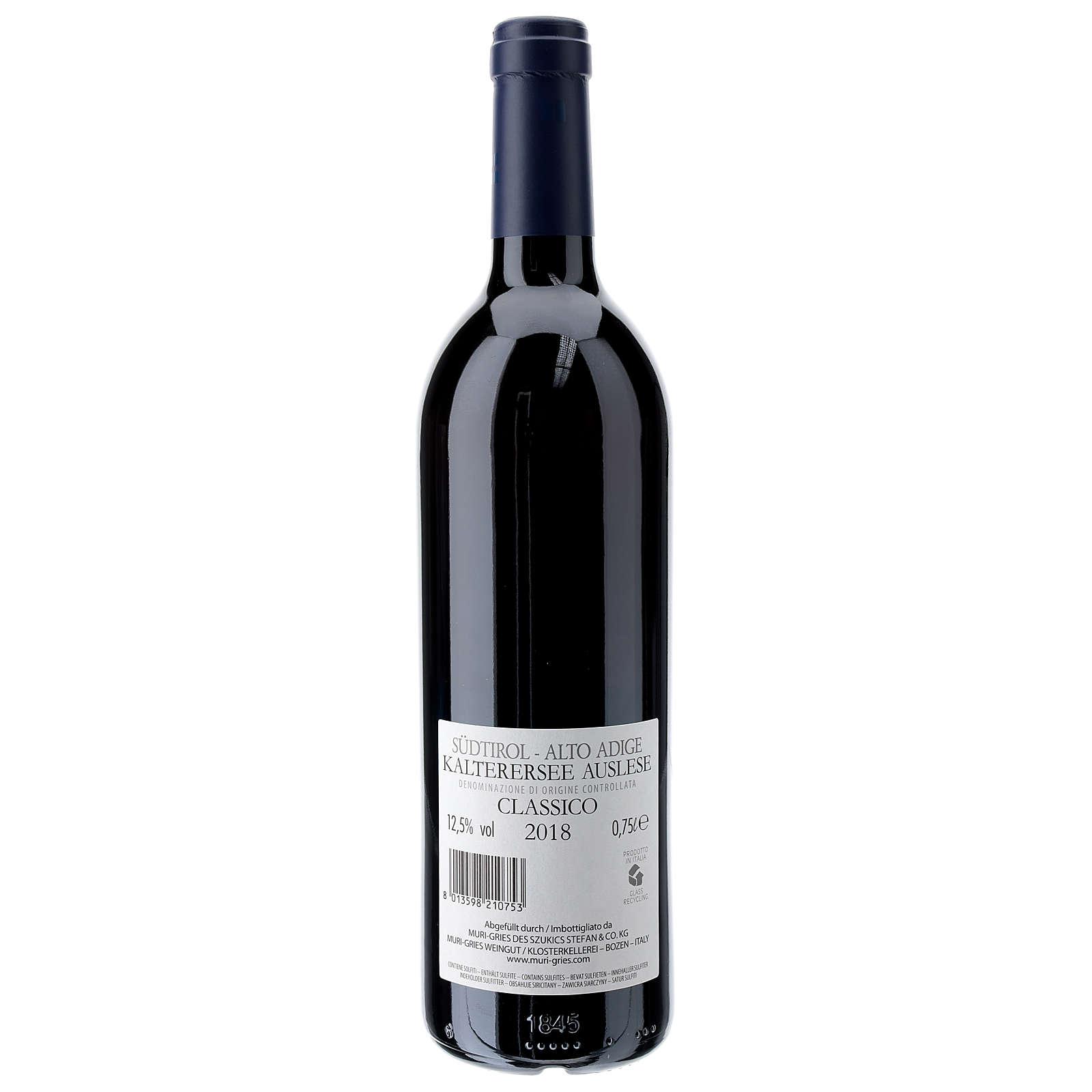 Lago di Caldaro selected  DOC 2018 wine Muri Gries Abbay 3