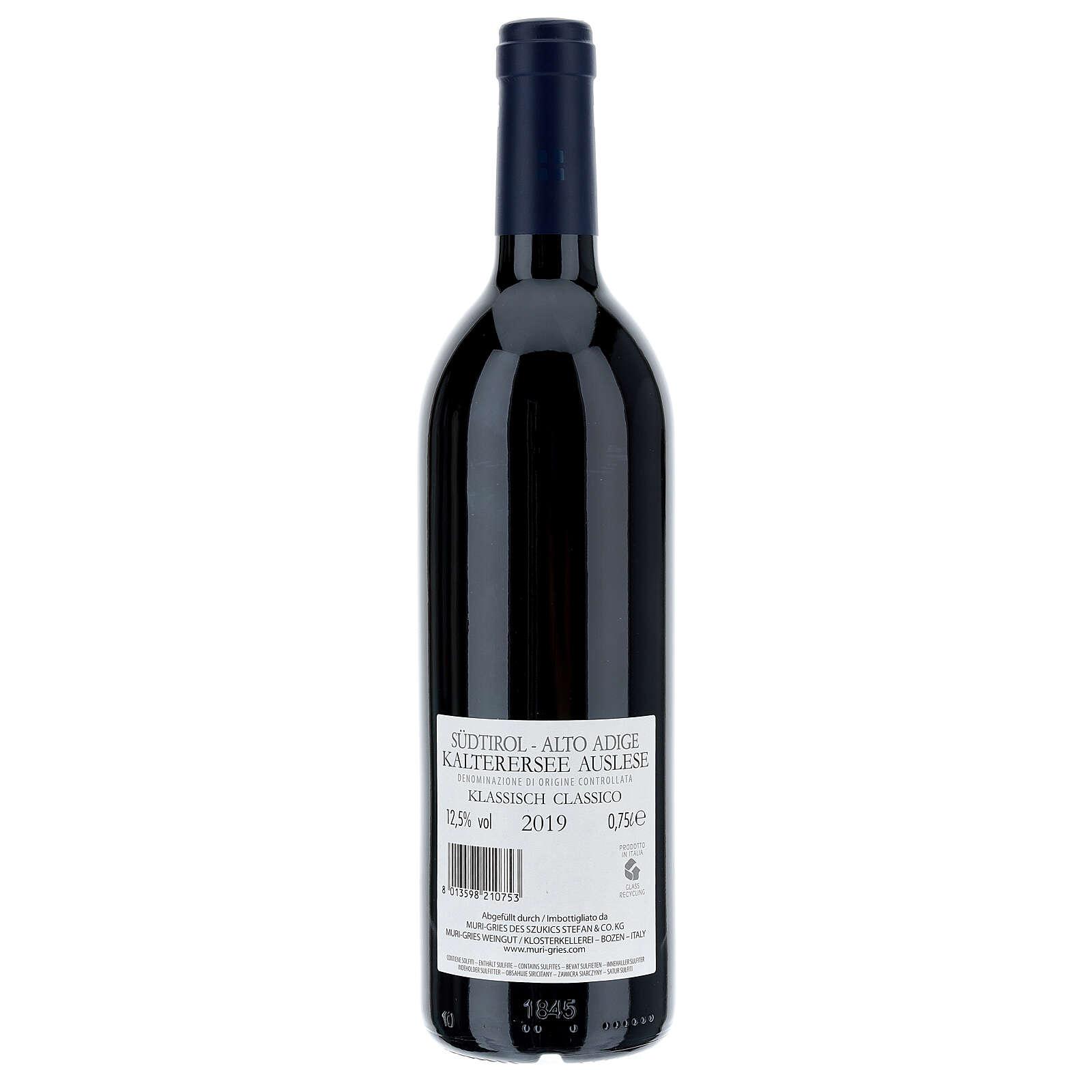 Vin Lago di Caldaro DOC 2019 Abbaye Muri Gries 3