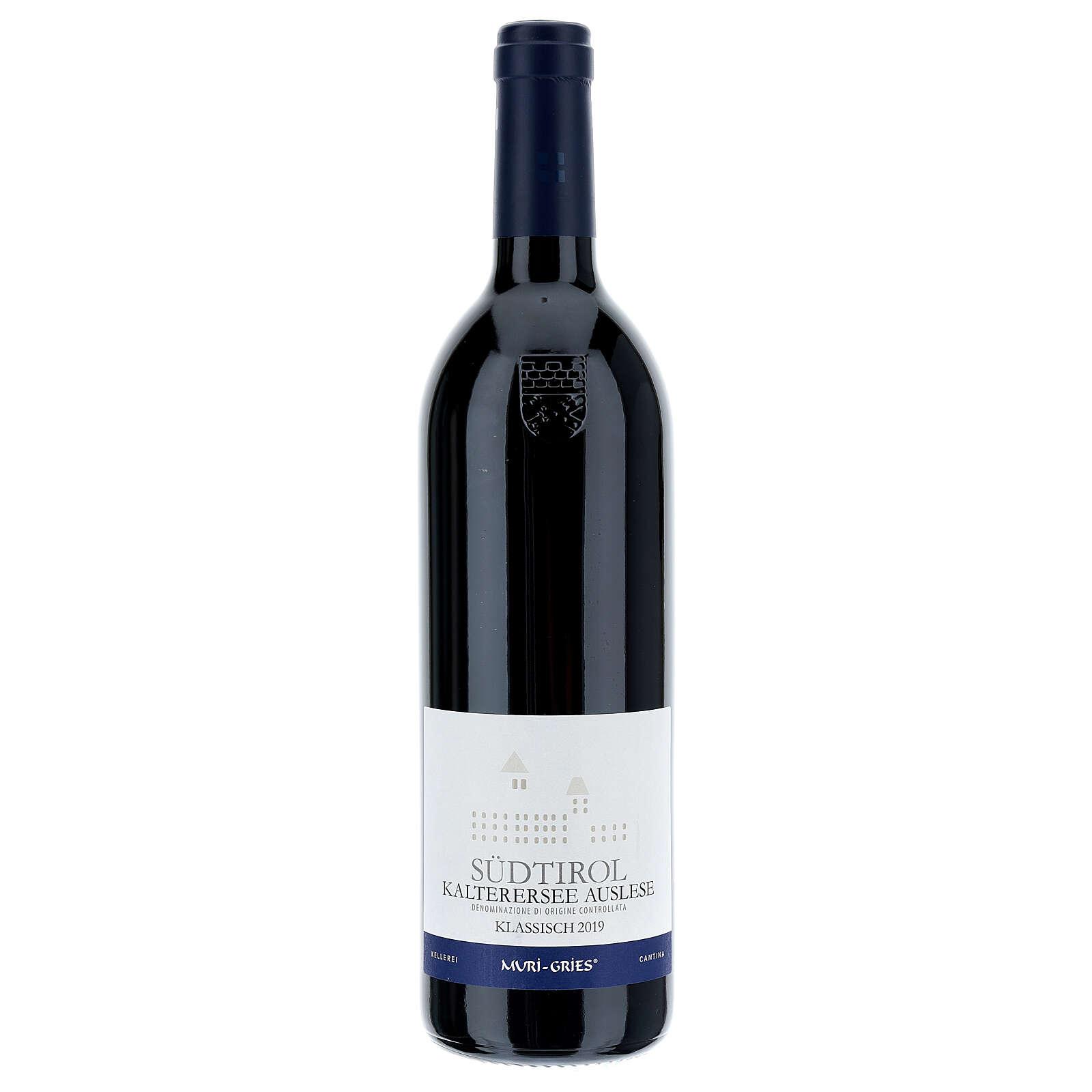 Vino Lago di Caldaro scelto  DOC 2019 Abbazia Muri Gries 750 ml 3