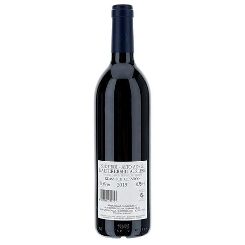 Vino Lago di Caldaro scelto  DOC 2019 Abbazia Muri Gries 750 ml 2