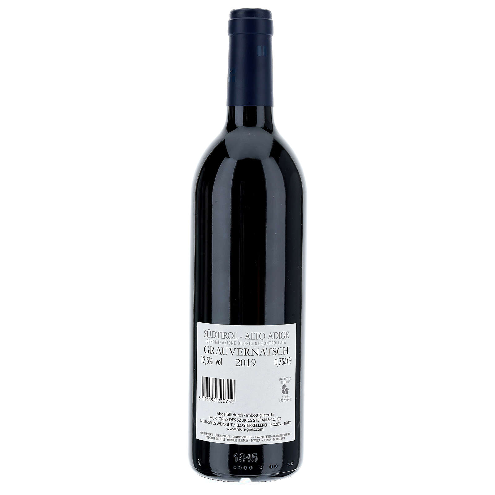 Schiava Grigia  DOC 2019 wine Muri Gries Abby 3