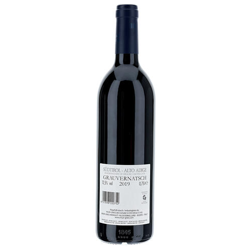 Schiava Grigia  DOC 2019 wine Muri Gries Abby 2