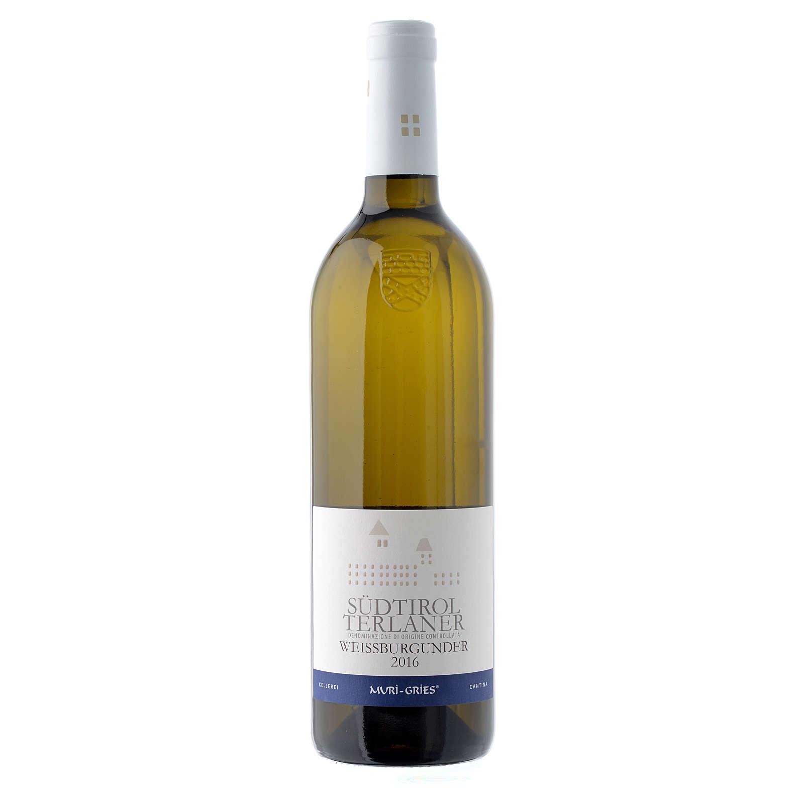 Vino Pinot Blanco de Terlano DOC 2016 Abadía Muri Gries 3