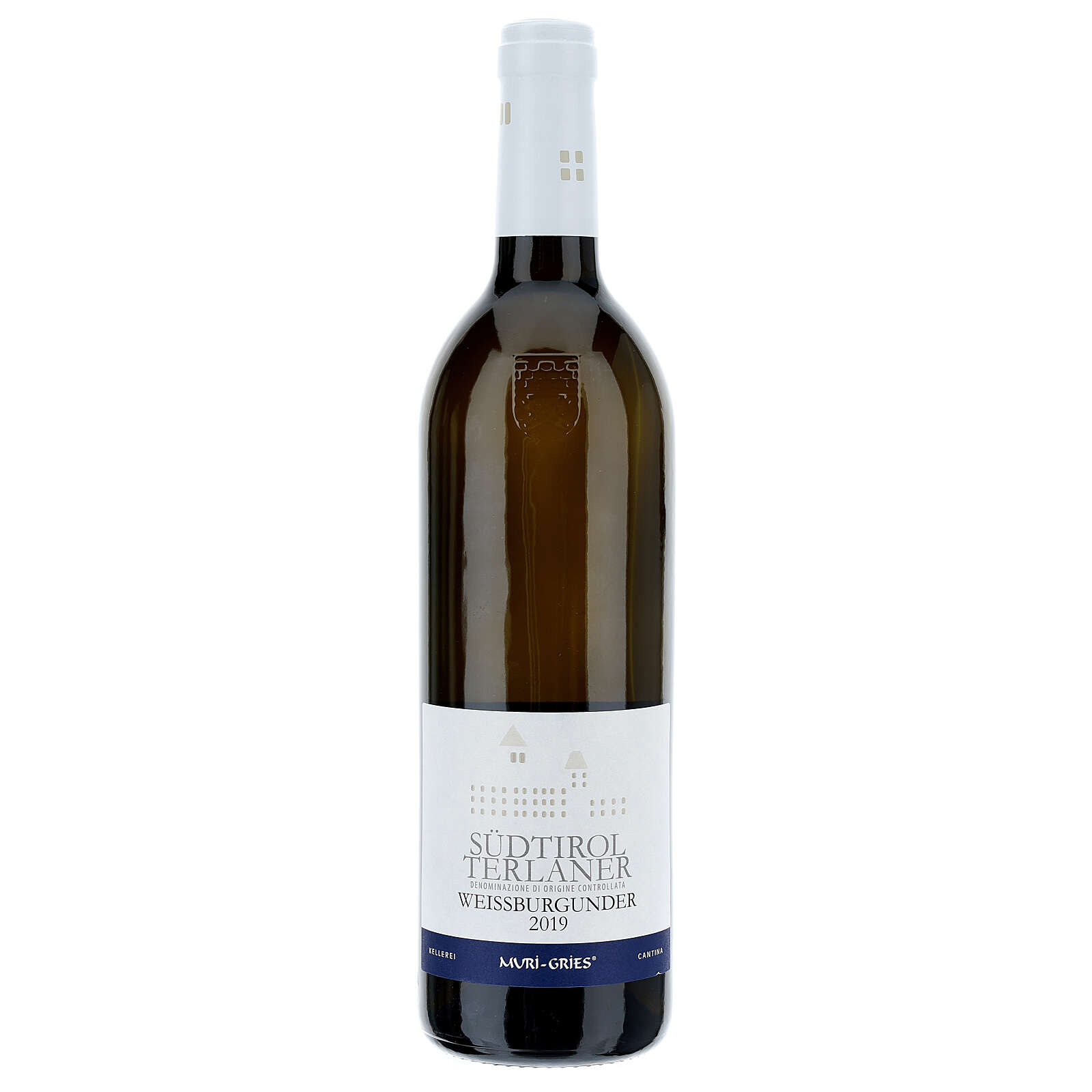 Vino Pinot Blanco de Terlano DOC 2019 Abadía Muri Gries 3