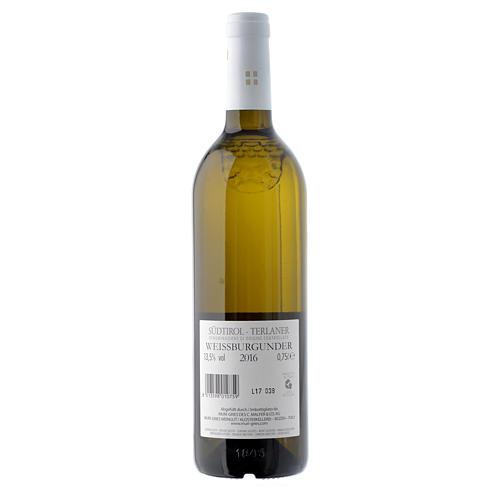 Vino Pinot Blanco de Terlano DOC 2016 Abadía Muri Gries 2