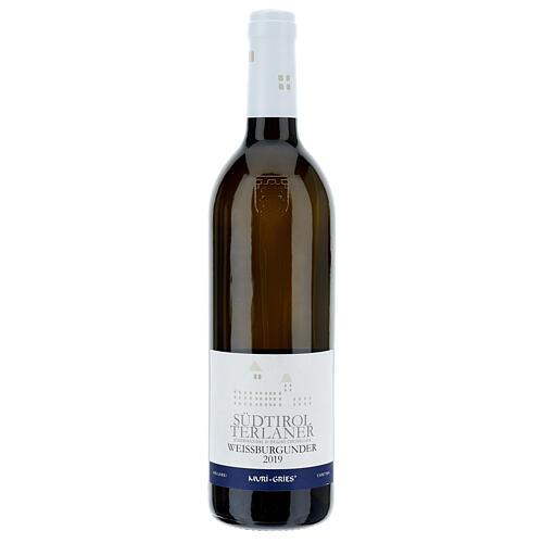 Vino Pinot Bianco di Terlano DOC 2019 Abbazia Muri Gries 750 ml 1