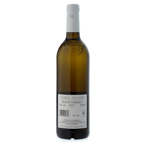 Vino Pinot Grigio DOC 2017 Abbazia Muri Gries 750 ml 2