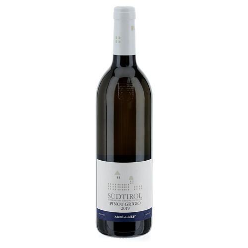 Vino Pinot Grigio DOC 2019 Abbazia Muri Gries 750 ml 1
