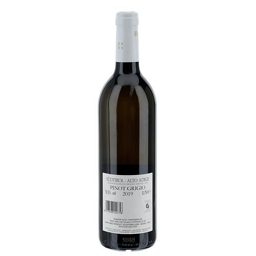 Vino Pinot Grigio DOC 2019 Abbazia Muri Gries 750 ml 2