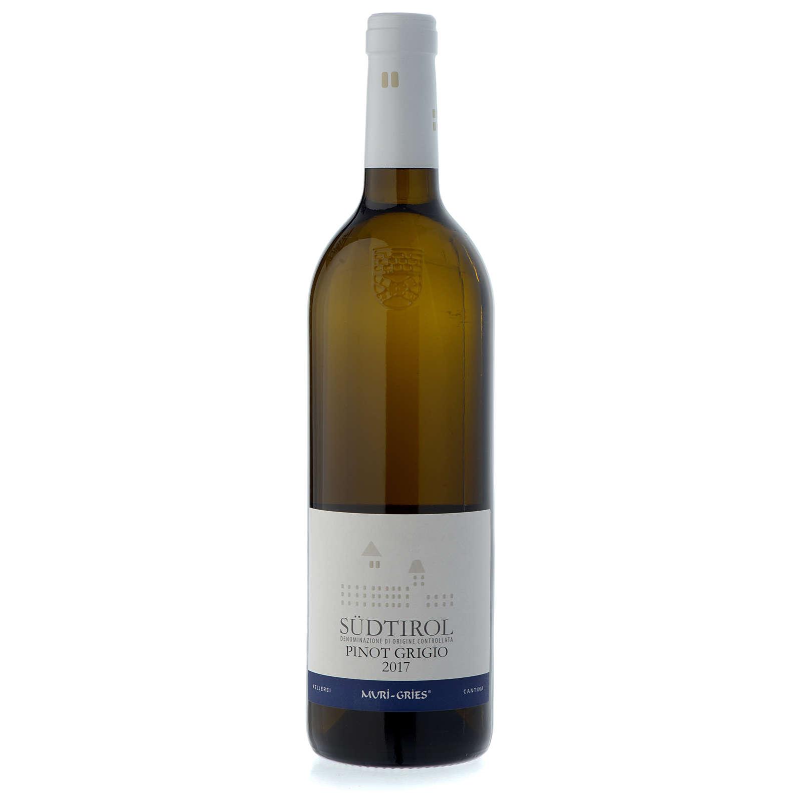 Vinho Pinot Grigio de Terlano DOC 2017 Abadia Muri Gries 750 ml 3