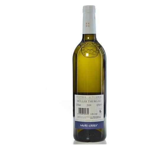 Vino Muller Thurgau DOC 2014 Abbazia Muri Gries 750 ml 2