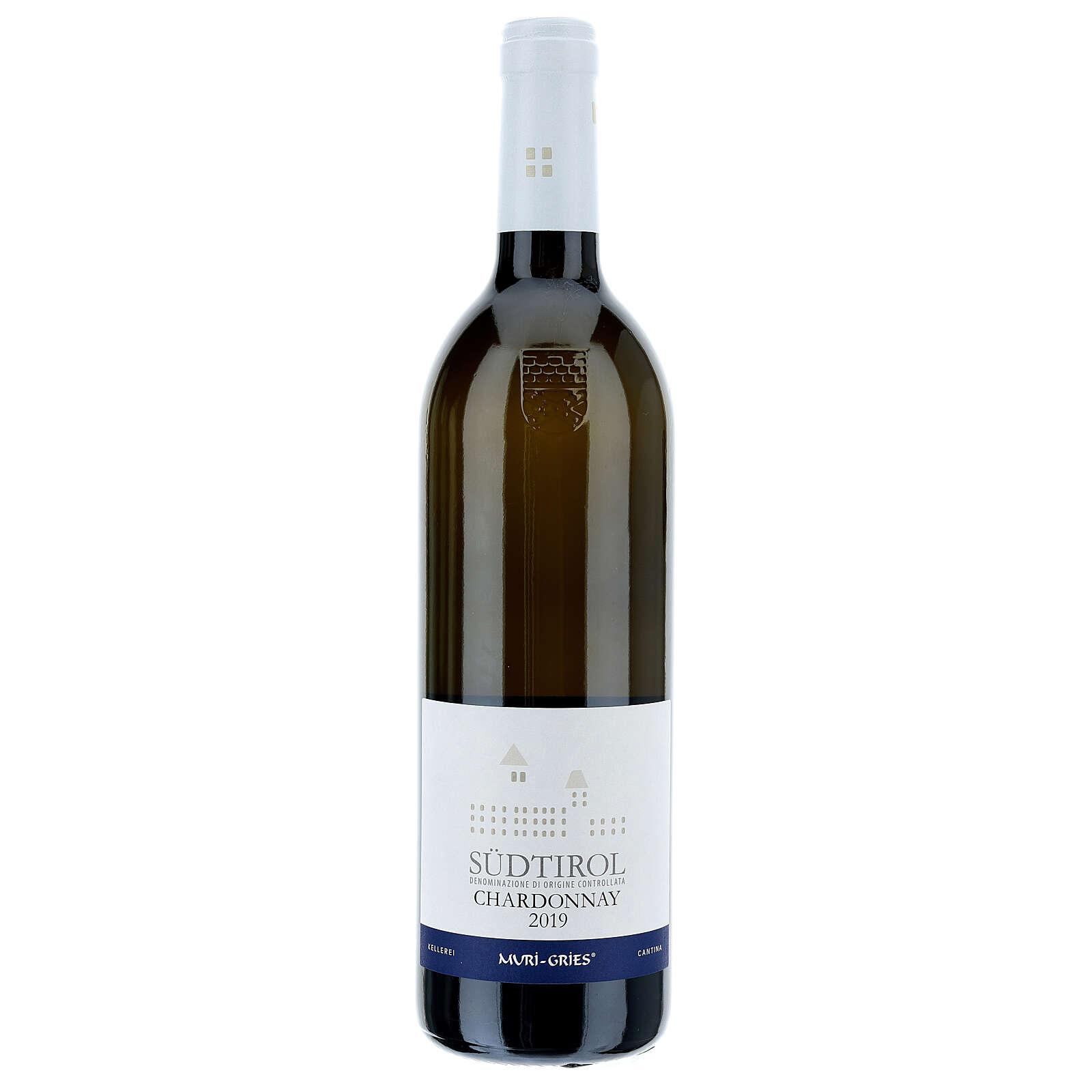 Vino Chardonnay DOC 2019 Abbazia Muri Gries 750 ml 3