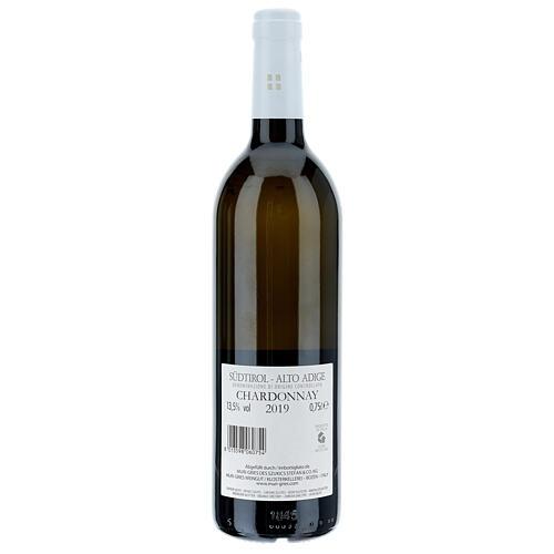 Chardonnay DOC 2019 wine Muri Gries Abbey 2