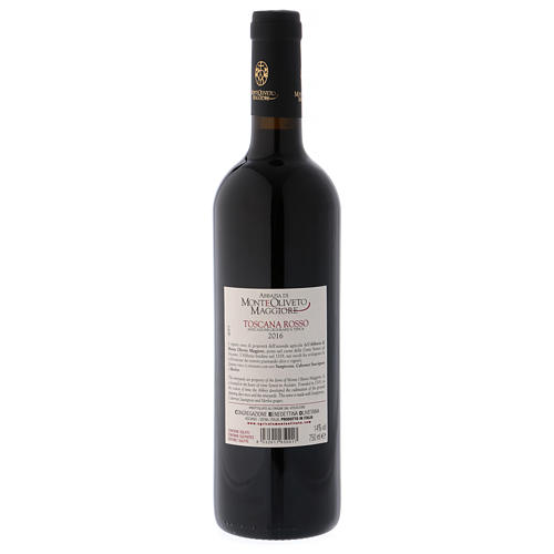 Vin de Toscane rouge 2016 Abbaye Monte Oliveto 750 ml 2