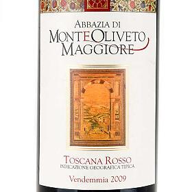 Vino Toscana Rosso 2009 Abbazia Monte Oliveto 750 ml s3