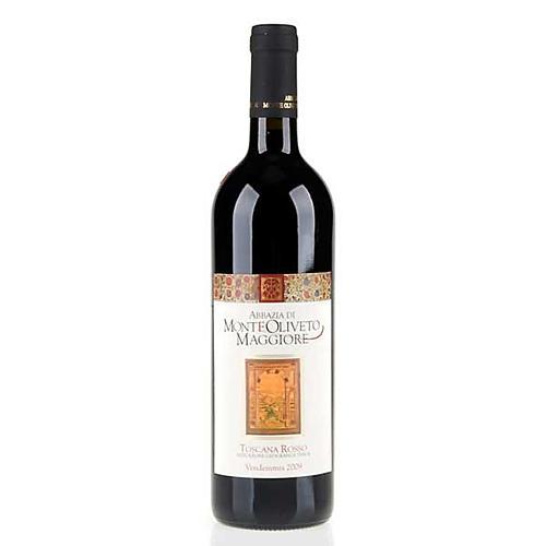 Vino Toscana Rosso 2009 Abbazia Monte Oliveto 750 ml 1