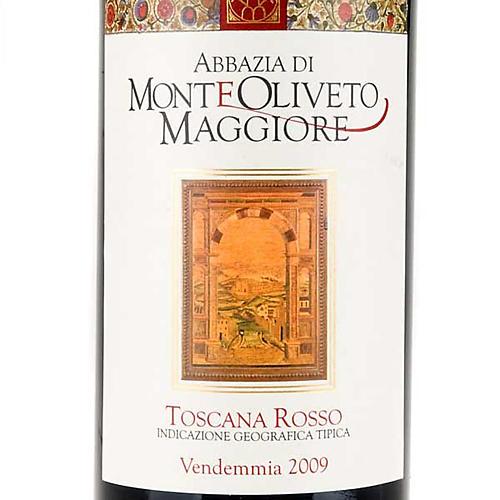 Vino Toscana Rosso 2009 Abbazia Monte Oliveto 750 ml 3