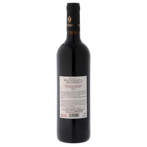 Wino Toskańskie czerwone 2016 Abbazia Monte Oliveto 750 ml 2
