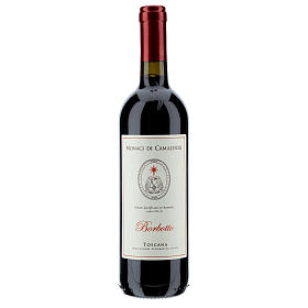 Les vins rouges et blancs: Vin de Toscane rouge Borbotto 750 ml 2016