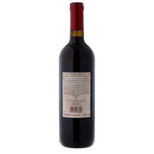 Vin de Toscane rouge Borbotto 750 ml 2017 2