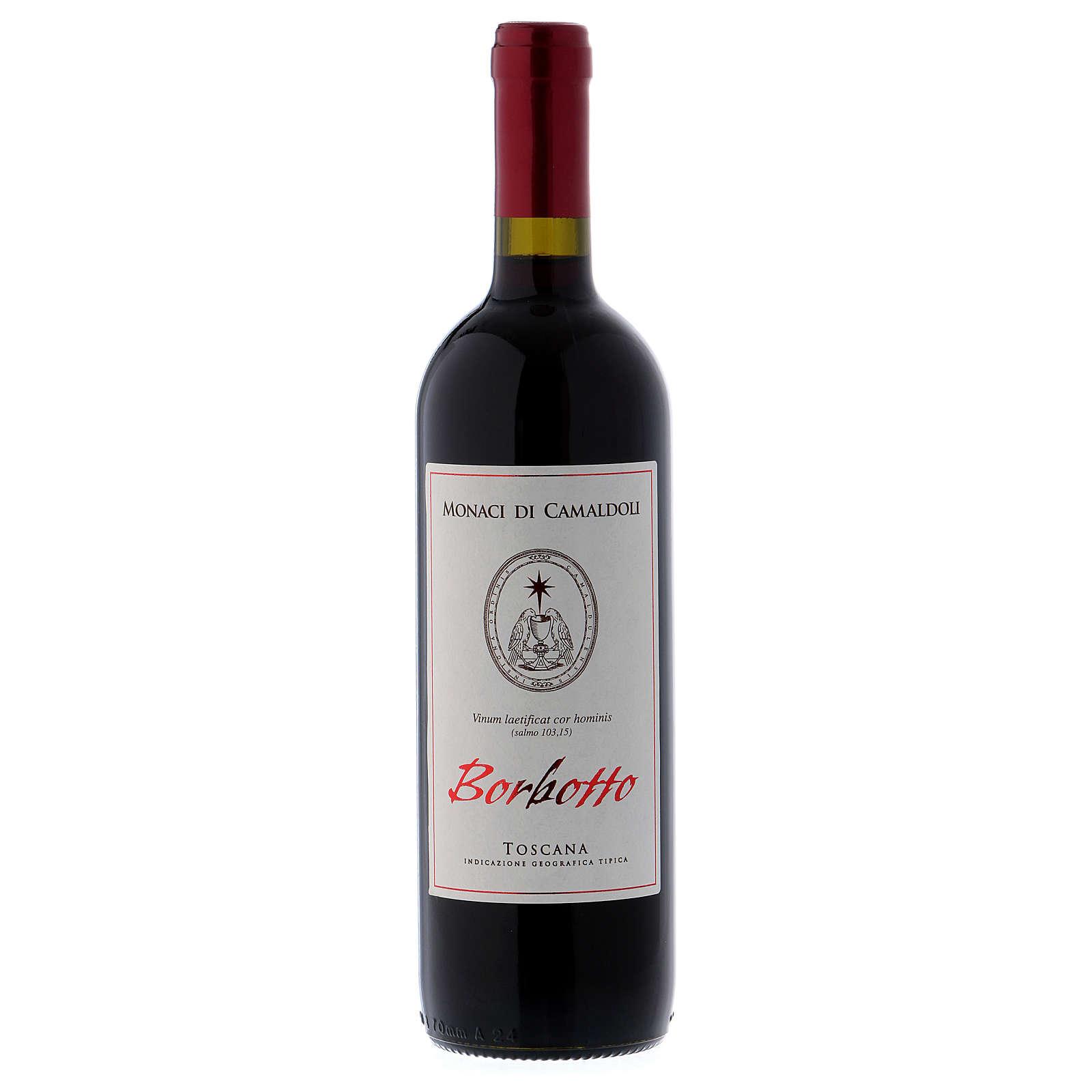Vino rosso toscano Borbotto 750 ml. 2016 3